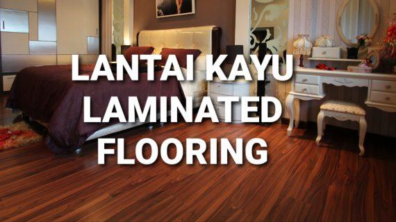 Lantai Kayu Laminated Flooring 8mm